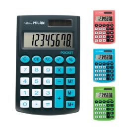 Kalkulačka MILAN 8-miestna Pocket Touch