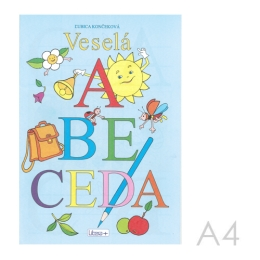Omaľovánka A4 Litera - Veselá abeceda