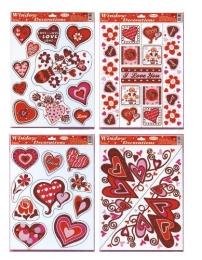 Adhézna nálepka  Valentín STVGr-5002 ABCD 1+1 zdarma!