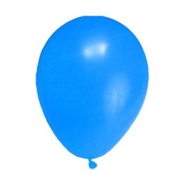 "Balóny nafukovacie tmavomodré ""M"" (10 ks)"