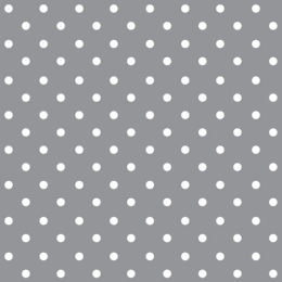 Obrúsky PAW L 33x33cm Dots grey