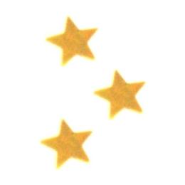 Konfety lesklé hviezdy zlaté 15g