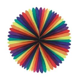 Obrí vejár farebný, pr. 100cm (1 ks)