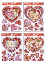 Adhézna nálepka  Valentín STVGr-1002 ABCD