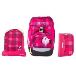 Školská taška - 3-dielny set, Ergobag Prime Set 2 - PrimBear Ballerina