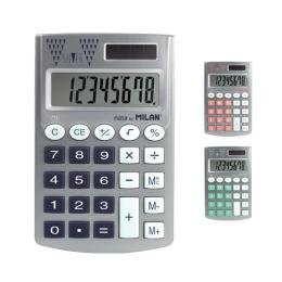 Kalkulačka MILAN 8-miestna Pocket Silver