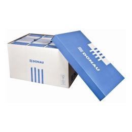 Archívny kontajner, 522x351x305 mm, kartónový, DONAU, modrý-biely