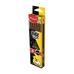 "Ceruzka grafitová MAPED ""BLACK'PEPS"" H 1ks"