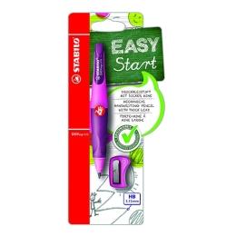 Mechanická ceruzka STABILO EASYergo 3,15 mm pre pravákov + strúhadlo ružová