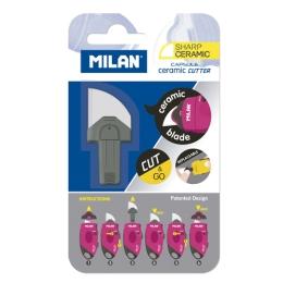 Náhradná čepeľ keramická pre orezávací nôž MILAN Capsule