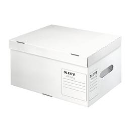 """Archívny kontajner, recyklovaný kartón, LEITZ """"Infinity"""", biely"""