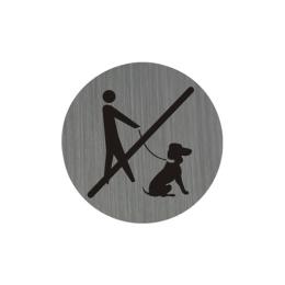 Piktogram Zákaz vstupu so psom