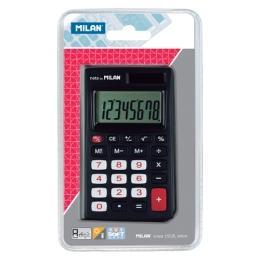 Kalkulačka MILAN 8-miestna 150208 čierna