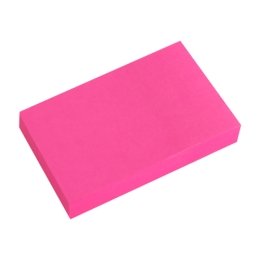 Blok lep. NEON 50 x 76 mm  ružový