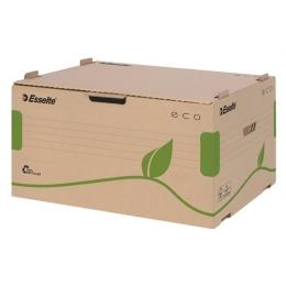 """Archívny kontajner """"Eco"""", s otváraním zpredu, hnedý"""