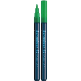 "Lakový popisovač, 1-2 mm, SCHNEIDER ""Maxx 271"", zelený"