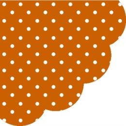 Obrúsky PAW R Dots terracotta