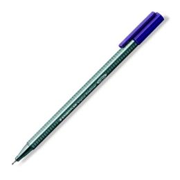 """Liner, 0,3 mm, STAEDTLER """"Triplus"""", fialový"""
