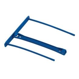 Archívna spona, plastová, modrá, 100 mm, FELLOWES (50ks)