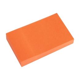 Blok lep. NEON 50 x 76 mm  oranž