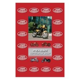 Pexeso A4 Motorky JAWA