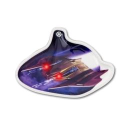 Klip Ergobag - svietiaci LED, Vesmír