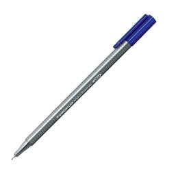 "Liner, 0,3 mm, STAEDTLER ""Triplus"", modrý"