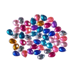Dekoračné kamienky mix farieb 50 ks
