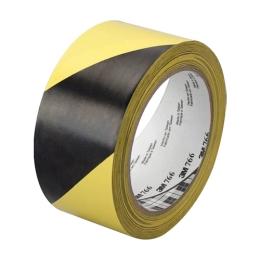 Priemyselná páska, žlto-čierna, 50mm x 33m