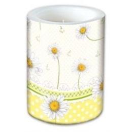 Sviečka Lampión Lovely daisies