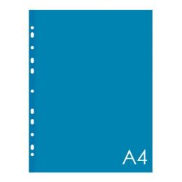 Euroobal A4 40 µm farebný - modrý, lesklý 50ks