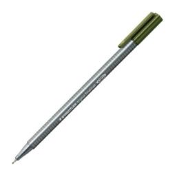 """Liner, 0,3 mm, STAEDTLER """"Triplus"""", olivovo zelený"""